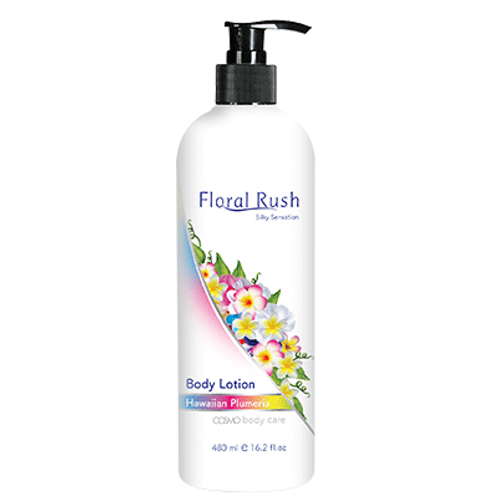 Floral Rush Body Lotion - Hawaian plummeria 480ml