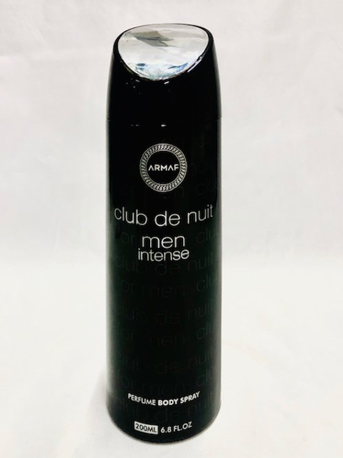 CLUB DE NUIT BY INTENSE ARMAF ALCOHOL FREE PERFUME BODY SPRAY 200 ML