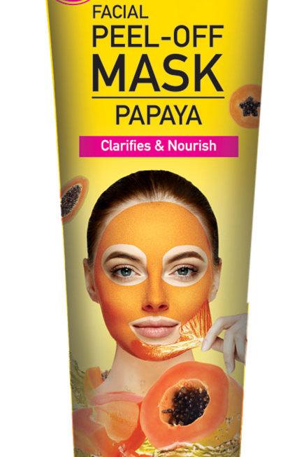 Cosmo Skin Naturals Facial Peel off Mask Papaya 5.1 Fl. oz.