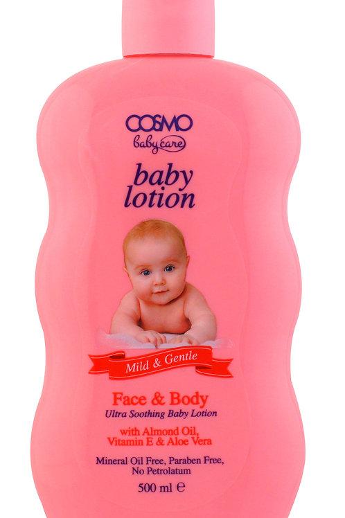 Baby Lotion Face & Body with Almond oil, Vitamin E & Aloe Vera