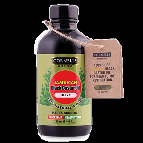 Jamaican Black Castor Hair Oil 100% Natural - Olive