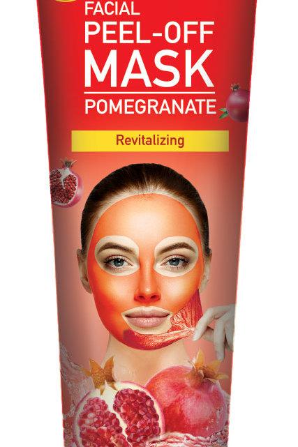 Cosmo Skin Naturals Facial Peel off Mask Pomegranate 5.1 Fl. oz.