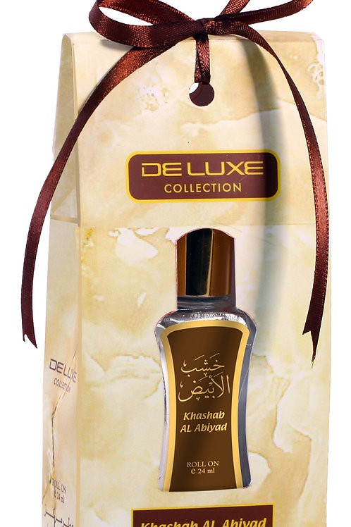 HAMIDI DELUXE ROLL ON PERFUME ATTAR OIL KHASHAB AL ABIYAD 24 ML