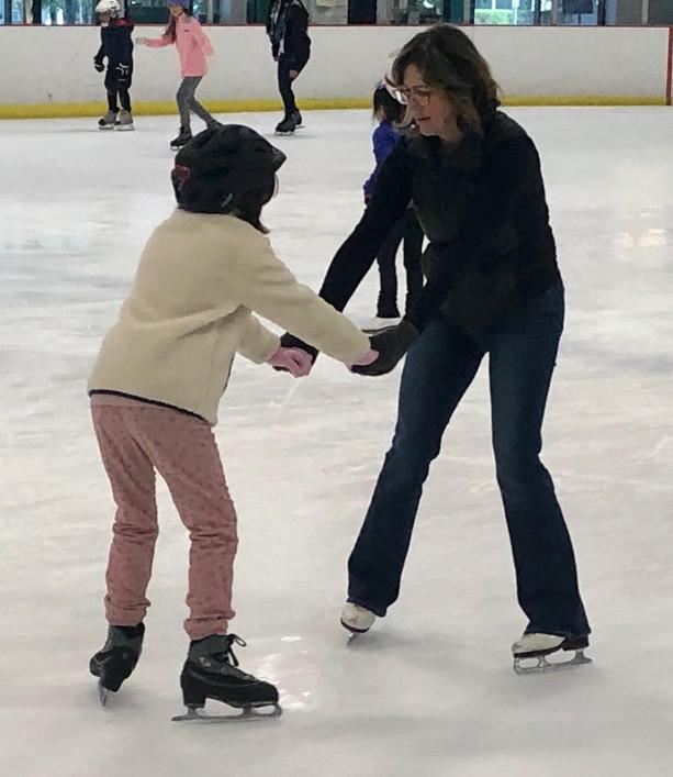 Teaching Sophia to Skate