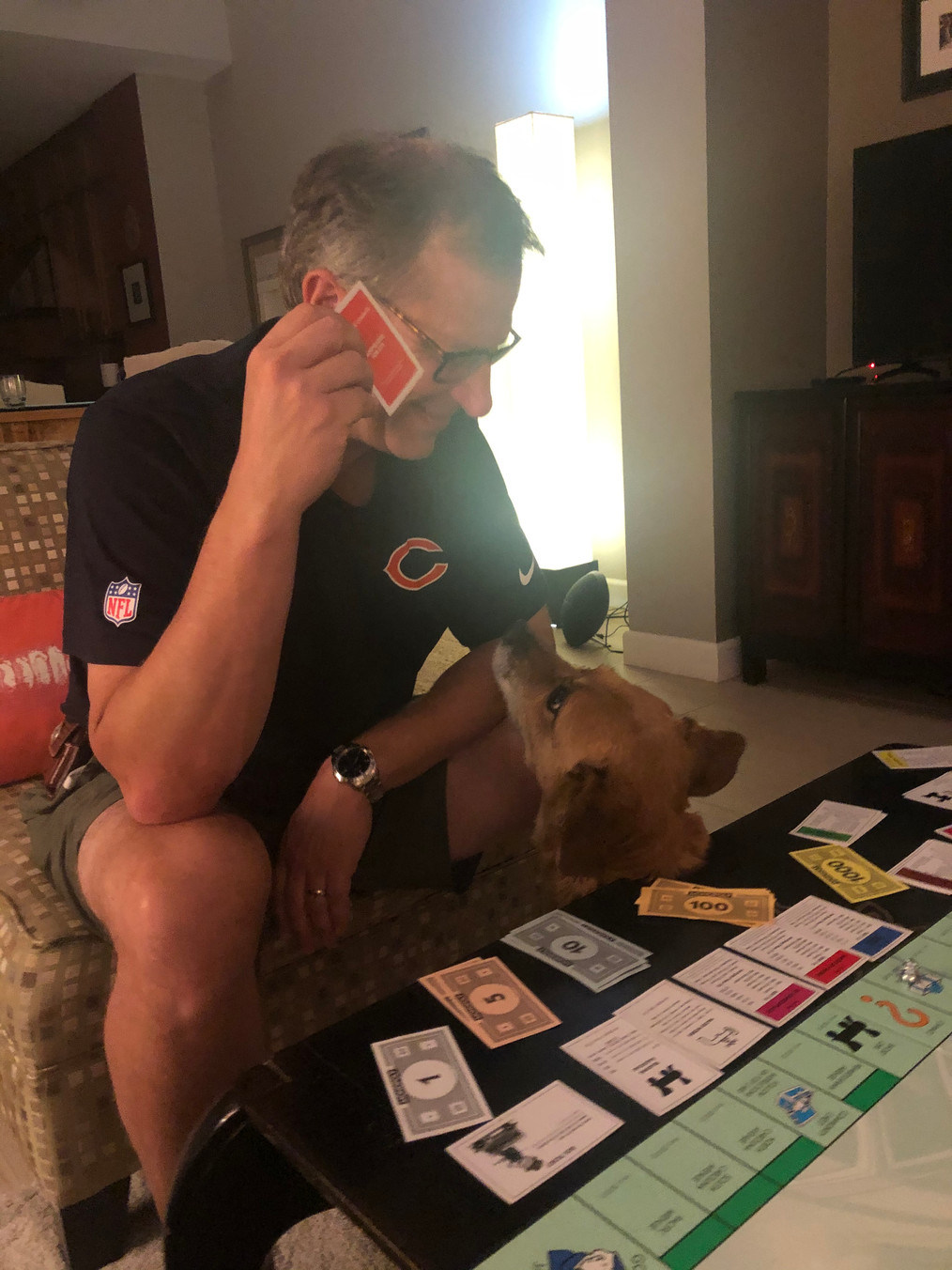 Monopoly with Sandy!