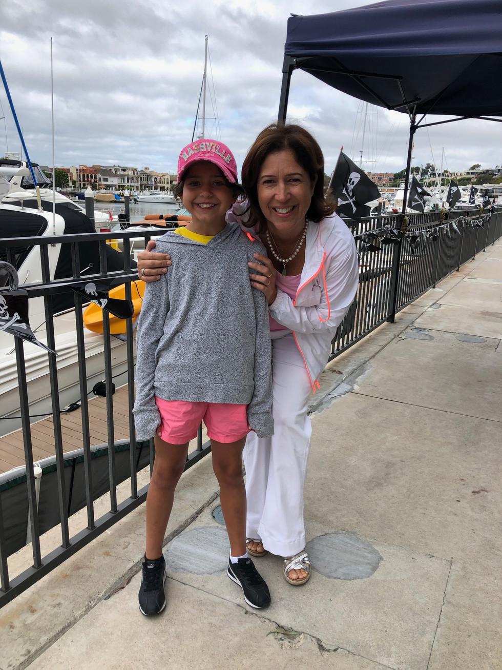 Sophia at Sailing Camp