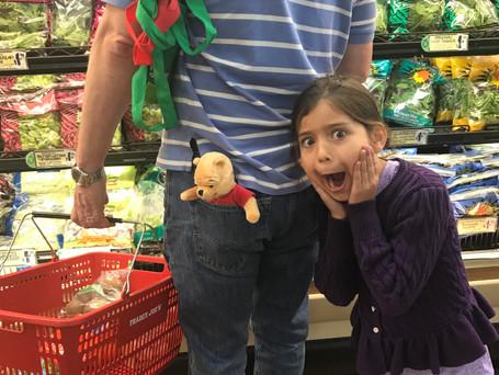 Winnie the Pooh at Trader Joe's!