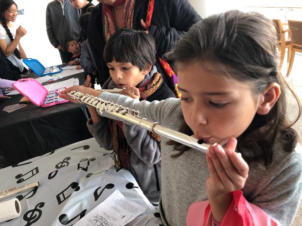 Volunteering at Sophia's School