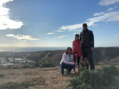 Family Hike in San Clemente