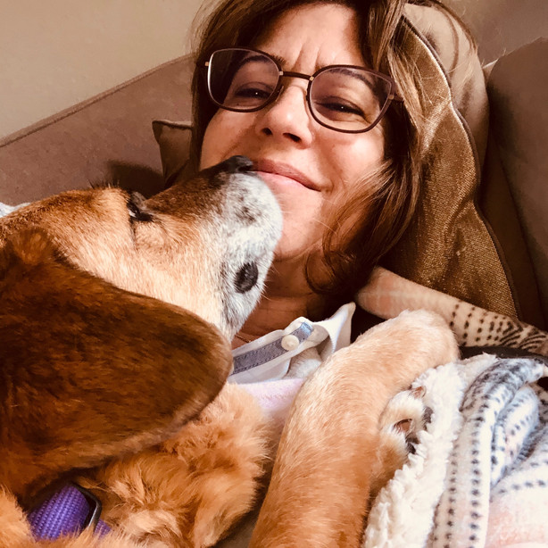 Puppy love - snuggles