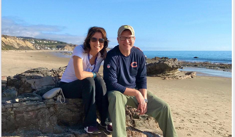 Carl and Natalie at Crystal Cove