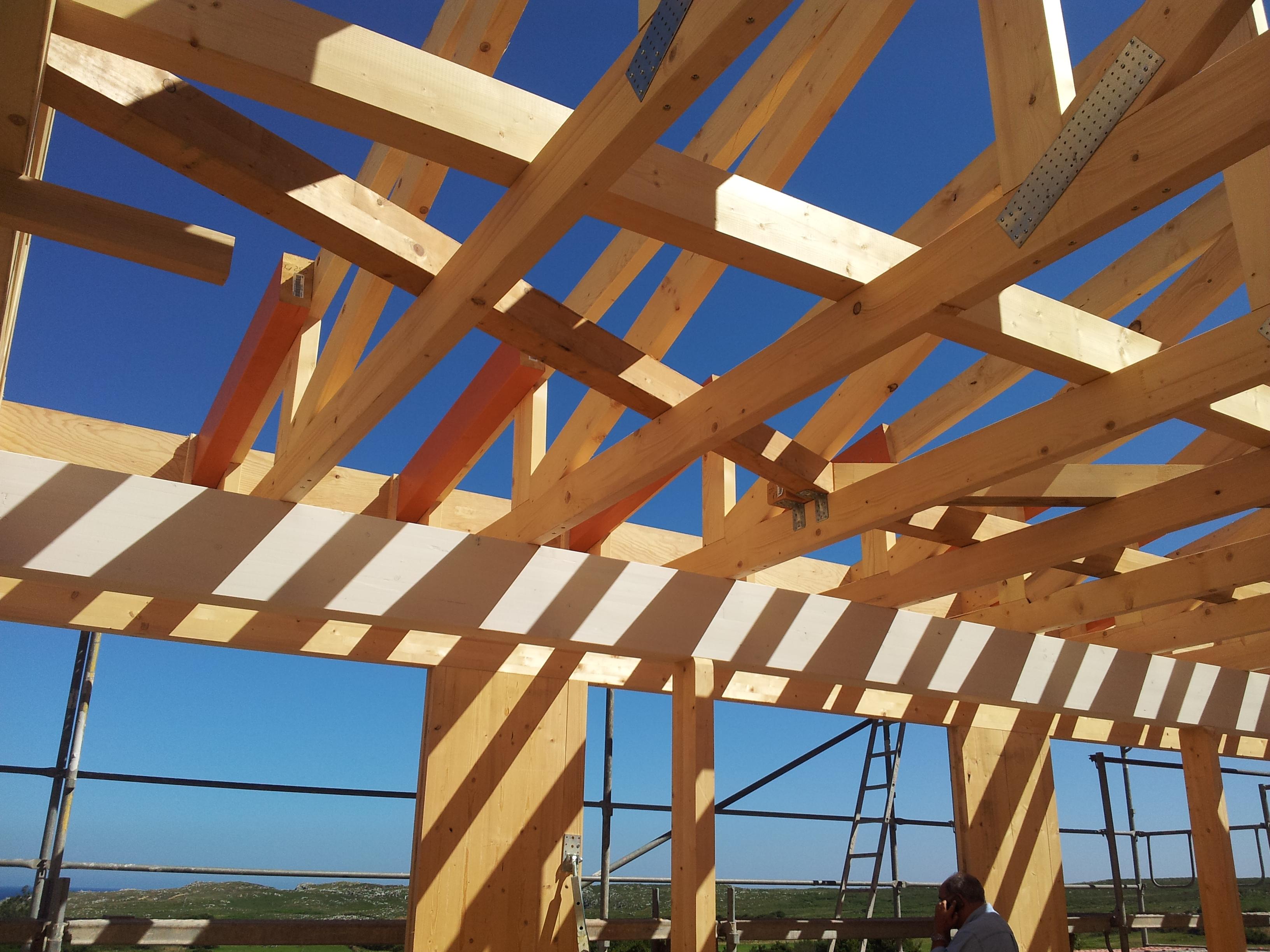 termainox - estructuras de madera