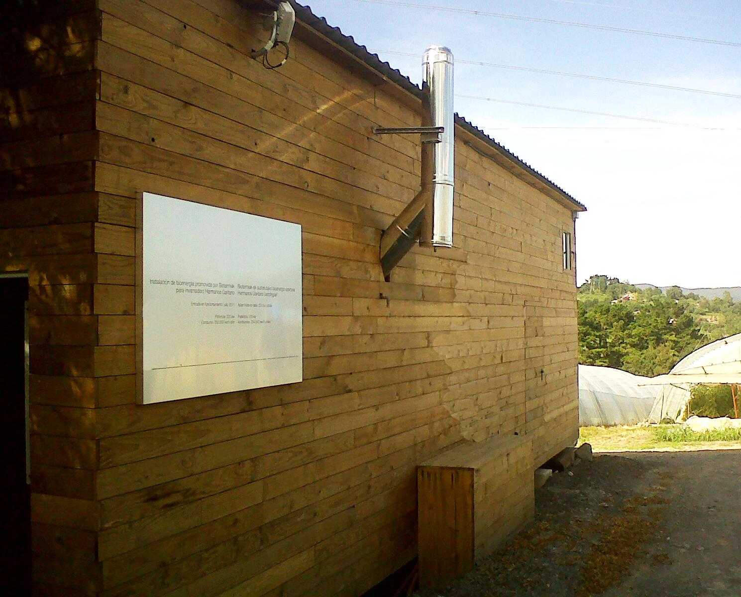 termainox - caseta biomasa