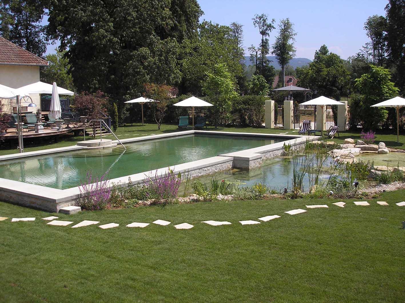 Reconversión de piscina tradicional
