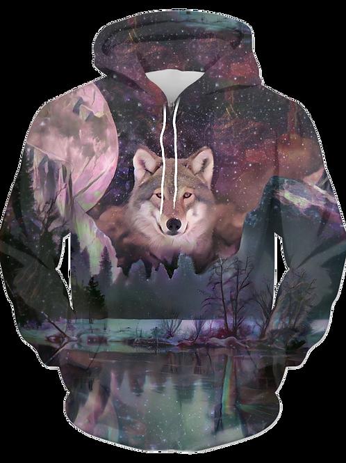 Yellowstone Wolf - 41033