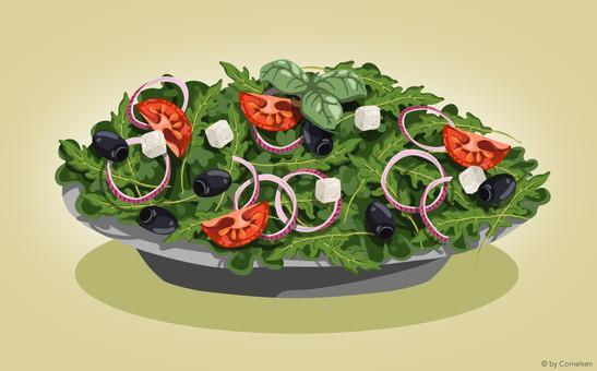 Grieschicher Salat