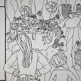 Ausarbeitung einer Comicseite