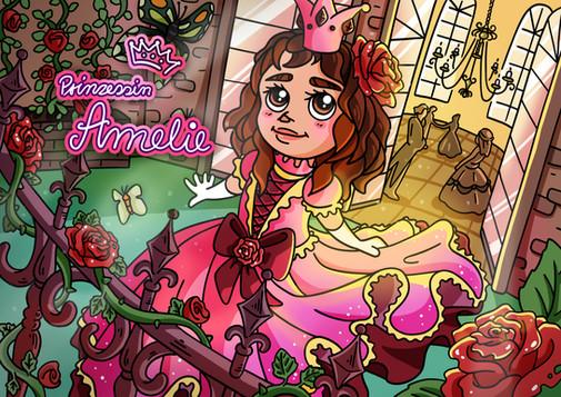 Kindermotiv Prinzessin