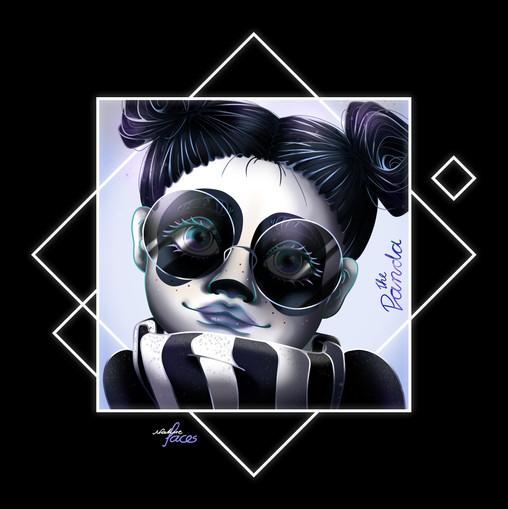 NatureFaces - Panda