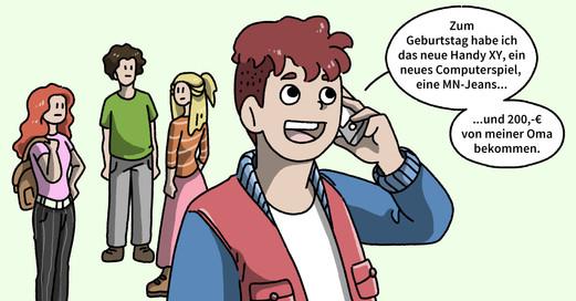Schüler Telefonat