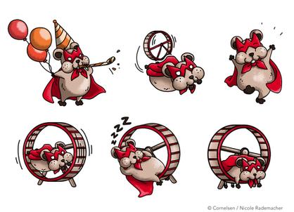 Hamster Maskottchen