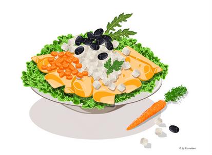 Käse Salat