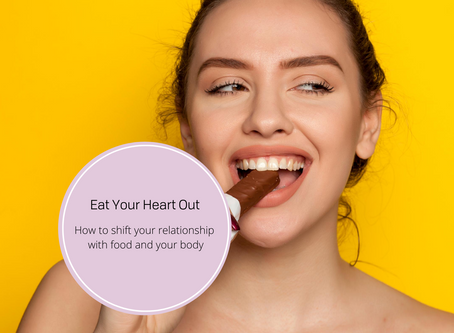How to shift your relationship with food and your body