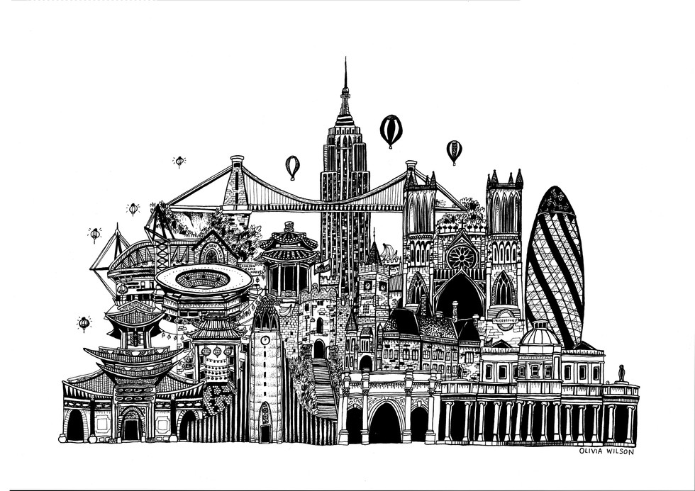NEW YORK, ICELAND, LONDON, BRISTOL, CARDIFF, CHELTENHAM