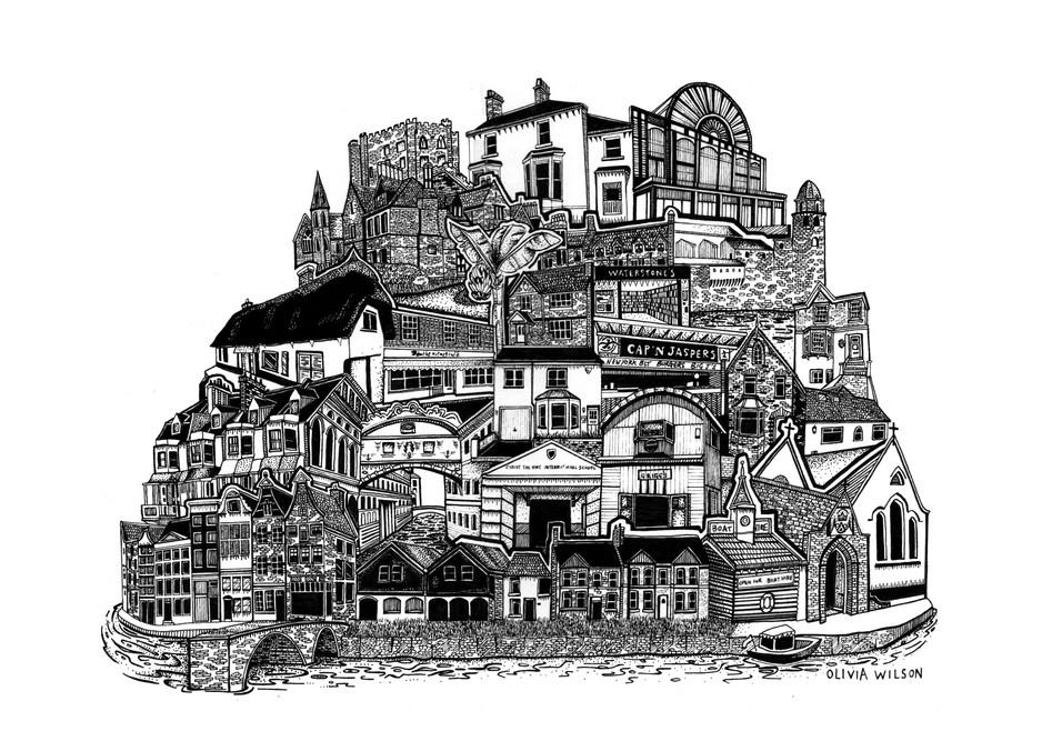 AMSTERDAM, LONDON, KENT, VENICE, ETC.