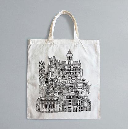 Affinity Living Tote Bag Design