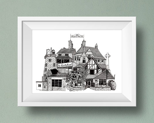 Buildings of Tiptree Print
