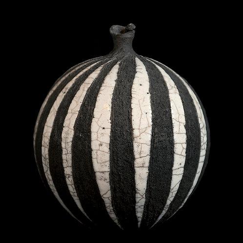 zebra vase large