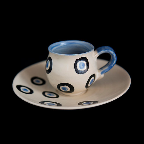demi-tasse cup and saucer