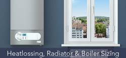 Heatlossing, Radiator & Boiler Sizing
