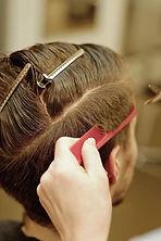 Férfi hajvágás élő közvetítés