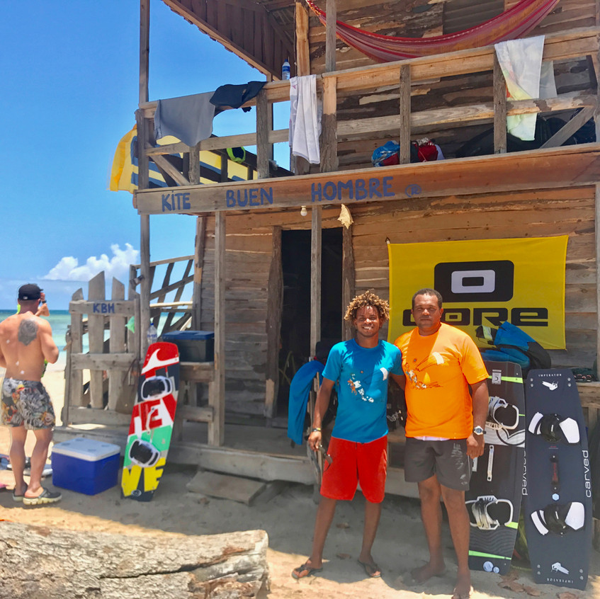 buen hombre beach, dominican republic