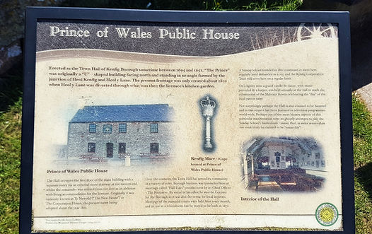 Prince of Wales Inn, Kenfig, Bridgend, History