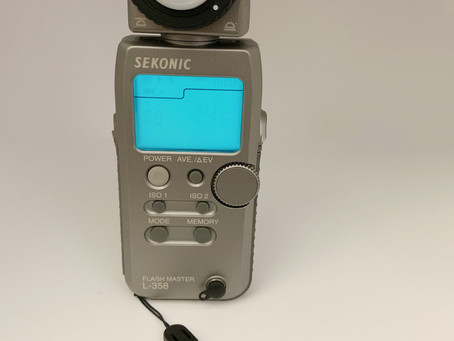 Comment utiliser le light meter Sekonic L358