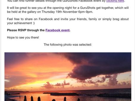GuruShots - exhibition reporté du 18 au 20 février 2021