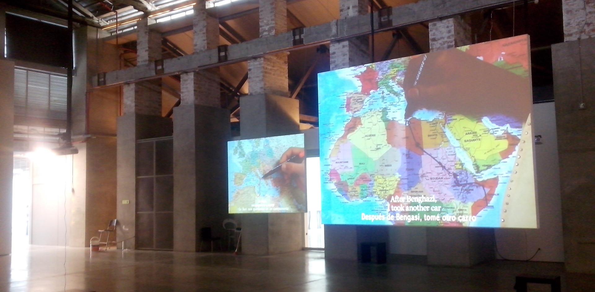 """Museo de Arte Moderno de Medellín, Exposición """"En y entre geografías"""""""