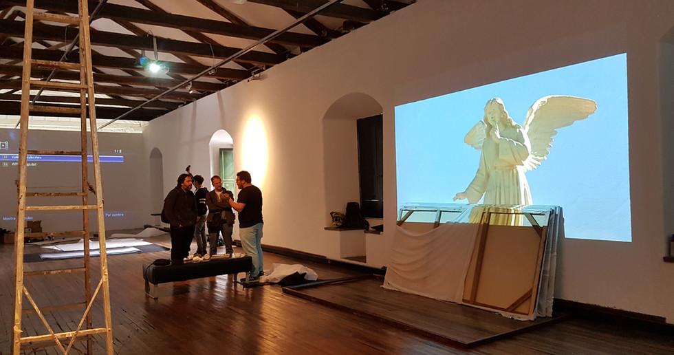 Claustro de San Agustín, artista Juan Cuadros