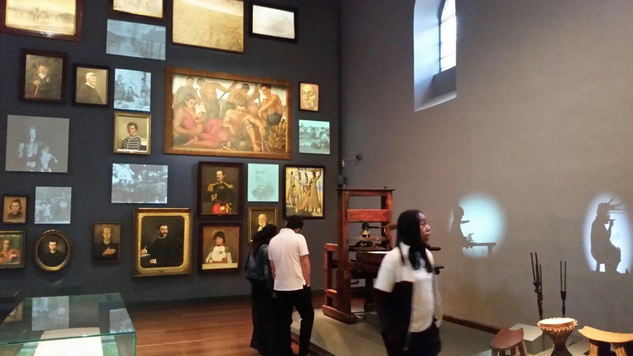Museo Nacional de Colombia, Sala Memoria y Nación