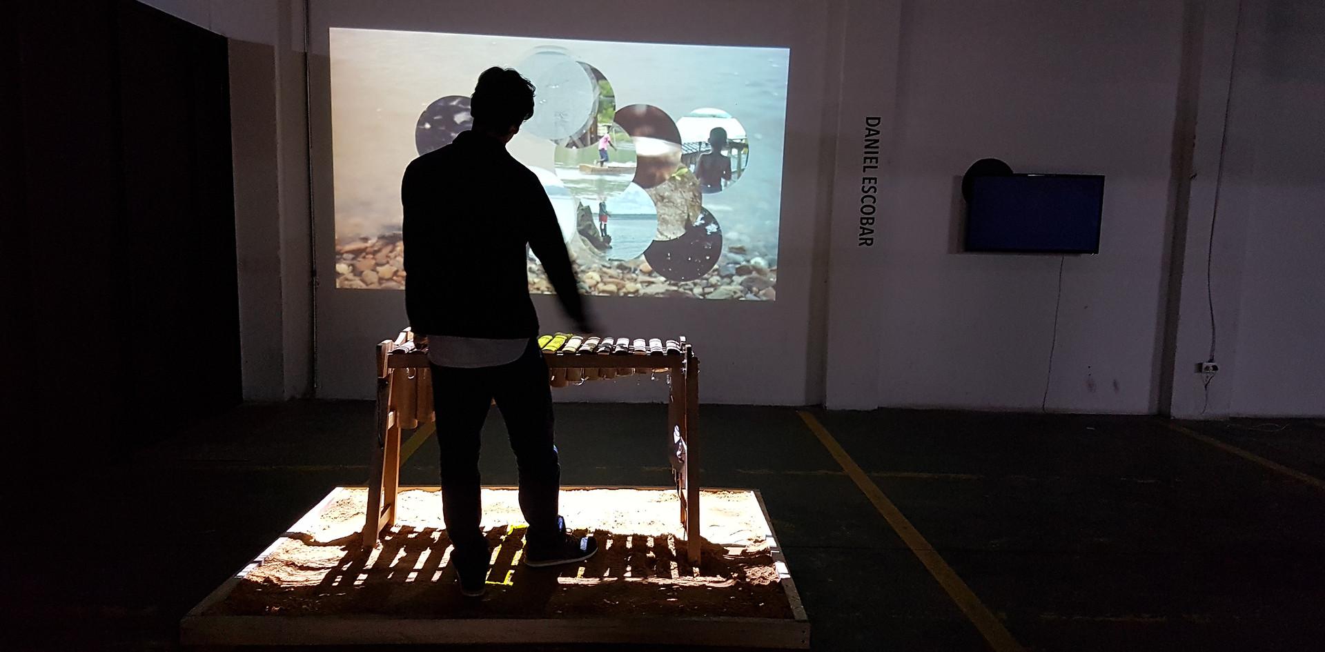 Voltaje - Salón de Arte y Tecnología, Daniel Escobar