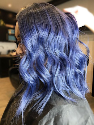 Electric blue⚡️_Coloured with _fanola _H