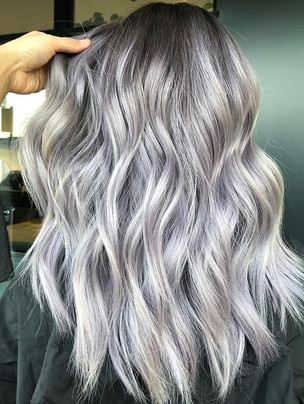 Cool Ash Blonde made with _fanola! 🌬_Ro
