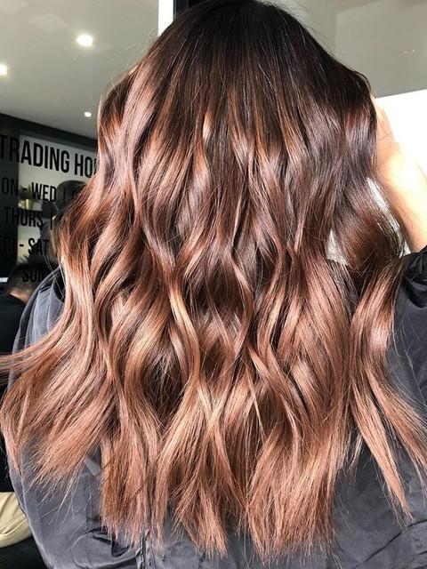Chestnut warm brown 🌰☀️_Hair by _chris.