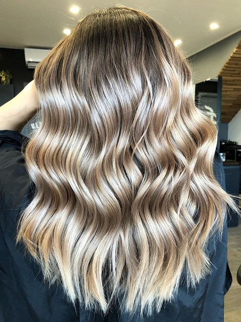 Golden beige blonde from 2019! Excited t