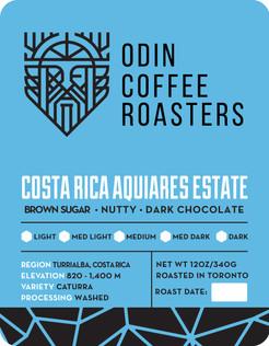 OCR Costa Rica Aquiares Estate