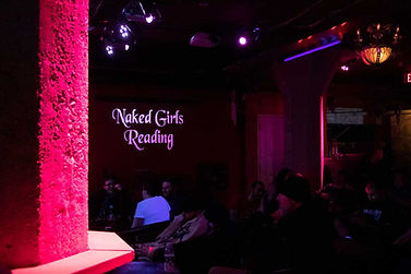 Naked Girls Reading holds their monthly