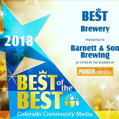 Thank you Parker for voting us Best of t